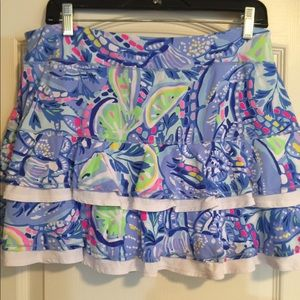 Lilly Pulitzer Luxletic skirt skort large
